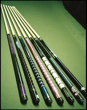 Stealth Cues Cue Amp Cushion Home Of St Louis Pool