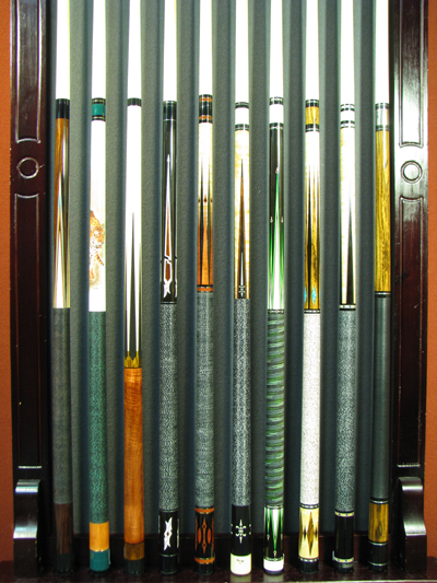 Click here to see the largest selection of cues in the Midwest! 577aebcccd44