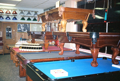 Cue U0026 Cushion   Pool Tables, Custom Cues, Billiard Parlor
